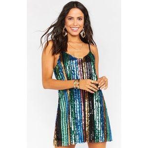 Show Me Your Mumu Vivian Slip Dress, Small